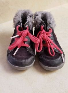 46155be297eb Clarks Baby Girls Star Detailed Fur Chestnut Brown First ShoesSZ 6  fashion   clothing