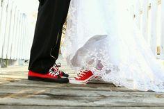 Chuck Taylors Wedding, Chucks Wedding, Green Converse, Dream Wedding, Wedding Day, Wedding Poses, Marry Me, Perfect Match, Beauty And The Beast