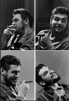 Che Guevara by Elliott Erwitt.