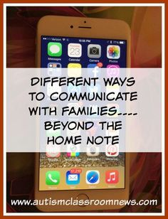 It is so important to communicate with families  in a special education classroom.  Here are some pointers and ideas of how to make it happen effectively.