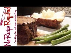 ▶ Peppercorn Sauce Recipe - The Perfect Steak Sauce -