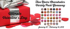 Come check out the Two Rivers Chocoholics Variety Pack #giveaway on my blog!  Enter daily!  @las930 #TwoRiversCoffee  Fabulous and Brunette: Two Rivers Chocoholics Variety Pack Giveaway - Ent...