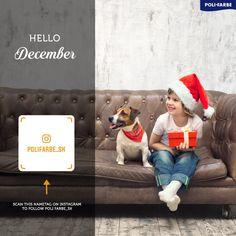 Je medzi nami niekto koho obľúbeným mesiacom je December? :)  #polifarbesk  #malovanie #malovaniestien #maliar #diy #farba #farby #farebneinspiracie #izba #izby #stena #steny #byvanie #krasnebyvanie #peknebyvanie #domov #renovacia #rekonstrukcia #home #design #decore #wallpainting #room #living #homedecore #painter #painting Hello December, Crochet Hats, Painting, Instagram, Knitting Hats, Painting Art, Paintings, Painted Canvas, Drawings