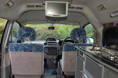 Hiace Hobo Living In A Toyota Camper Van Mitsubishi Delica