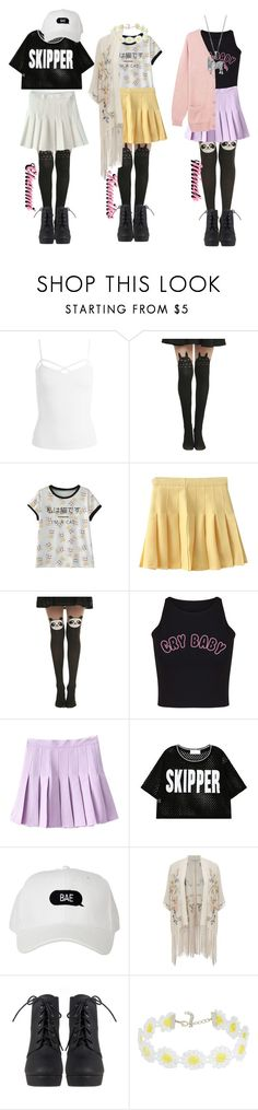 """SCC // Second win with Crybaby"" by official-4dolls ❤ liked on Polyvore featuring Sans Souci, Ghibli, WithChic, CO and Miss Selfridge"