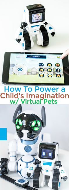 Discover the best ways to power your child's imagination for a perfect balance in creativity between classic play and today's gadget rich culture. Plus 2 great Virtual friends that help to encourage your child's imagination growth.  #PowerImagination #IC AD @toysrus