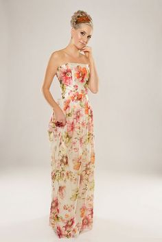 Floral Bridesmaid dress by Jennifer Gifford