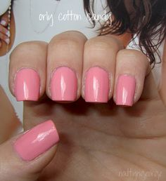 NOTD: Orly Cotton Candy!