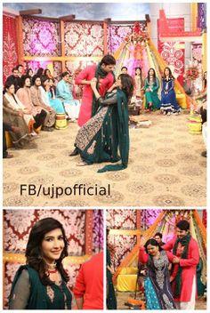 Dhamakedar entry of Dulhay walay LIVE in Utho Jago Pakistan, Geo Tv, Morning Show, Weddings, Live, Fashion, Moda, Fashion Styles, Wedding