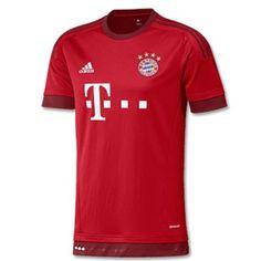 Camisetas Bayern de Munich 2015 2016 (No hay serigrafía original) Camisa Do  Bayern. Camisa Do BayernSoccer KitsFootball ... 689b78aac
