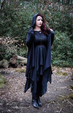 witchy dark boho