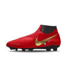 Botas de Futbol FG Nuevo Adidas Predator 18 FG Futbol Oro Rojo | botas de a0ab41