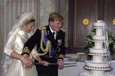 Galería de imágenes - Foto 1 - Guillermo y Máxima parten la tarta nupcial