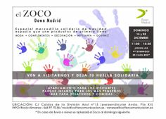 MERCADILLO SOLIDARIO ZOCO DOWN MADRID