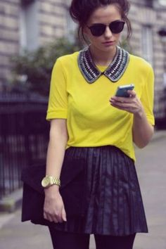 I NEED the skirt, sunglasses, and collar necklace