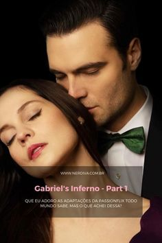Filme: Gabriel's Inferno - Part 1 - Nerdiva.com.br Gabriels Inferno, Celtic, Movies, Movie Posters, Fifty Shades, Romance Books, Films, Film Poster, Cinema