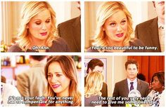 Parks and Rec | Me to my friends when I'm about to go into a battle of wits.