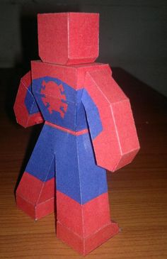 Spiderman cubeecraft