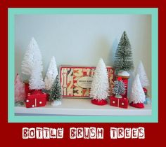 Christmas in my craft room.