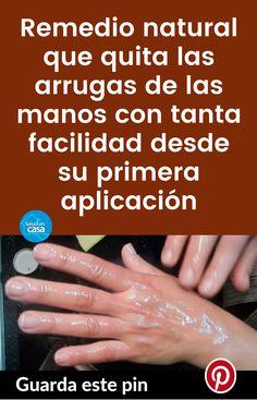 Remedio natural que quita las arrugas de las manos con tanta facilidad desde su primera aplicación #remedio #arrugas #manos #azúcar #limón #aceiteoliva