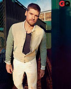 The Baseball Jacket. Check out more baseball jackets at http://www.wantering.com/trends/baseball-jackets/
