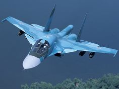 Sukhoi Su 34. 2 seats. Toilet, bed and kitchen. Perfect executive jet.