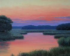 Hues of Silence, Ronald Tinney, oil, 16x20