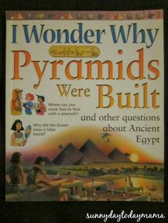 sunnydaytodaymama: Another 15 books about Egypt for children