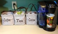 Great idea for organizing K-cups. Thirty one Littles carry all caddy. Contact me to book your party 205 340-3046, www.mythirtyone.com/mcrouch, megancrouch.31gifts@gmail.com