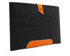 Genuine Leather  Felt iPad Mini Case  Sleeve Retina by profelter