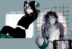 Dark Abused anime boys Guro