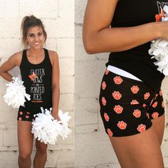 Youth Soffe Shorts Nathalie Cute Cheer Practice