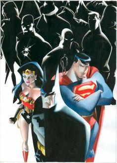 Justice League  By: Rodolfo Migliari