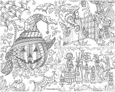 The Best Free Adult Coloring Book Pages These Halloween