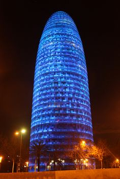 Torre Agbar - Barcelona, Spain | Flickr - Photo Sharing!