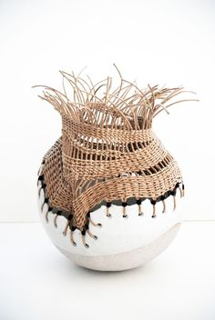 Inspiring Me? - ceramic vase by Tracy Wilkinson -What's Inspiring Me? - ceramic vase by Tracy Wilkinson - Ceramic Clay, Ceramic Vase, Ceramic Pottery, Pottery Art, Pottery Kiln, Thrown Pottery, Pottery Sculpture, Sculpture Art, Ceramic Sculptures