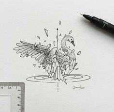 Geometric Beast | Swan