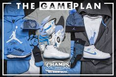 e7191bd8de59 The Game Plan by Champs Sports Presents the Jordan Legend Blue Collection