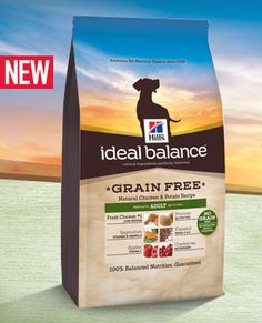 Ideal Balance Dog Food >> Hill S Ideal Balance Puppy Small Breed Natural Chicken Brown Rice