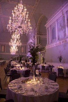 love this Reception look- Wedding breakfast in The Ball Room Assembly Rooms wedding venue in Bath, Somerset