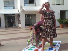 Sure #Twister is supposed to be a childrens #game ;-) well ok... big kids are allowed too! Entry from Martin