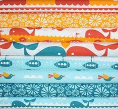 whale fabric