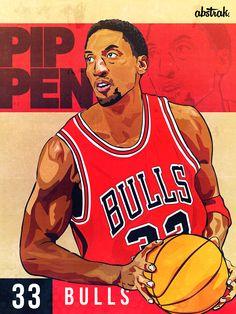 The legendary Scottie Pippen. #33 #ChicagoBulls