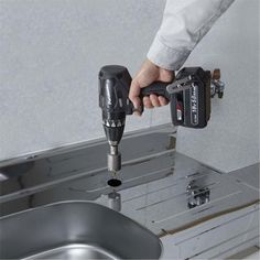 *CLICK TO ENLARGE* Panasonic EY74A3 14.4V/18V brushless drill driver