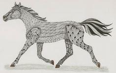 Horse Template Ben Kwok
