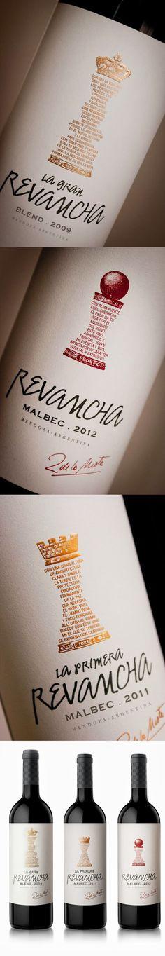 label / Revancha. #wine #packaging #taninotanino