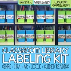 Core Inspiration by Laura Santos Classroom Library Labeling Kit Cover Image
