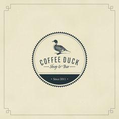 Coffee Duck - nice clean branding