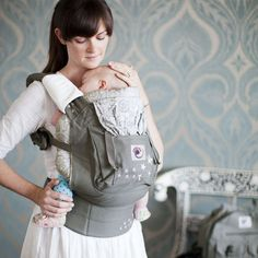 Ergobaby Original Collection Baby Carrier | Ergobaby - cradles you baby just the way you do with the baby in a natural sitting position.