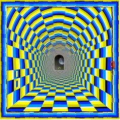 Awesome Moving Tunnel Optical Illusion! | Mighty Optical Illusions